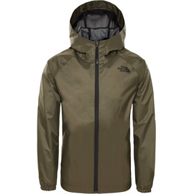 The North Face Zipline Rain Jacket Boys new taupe green